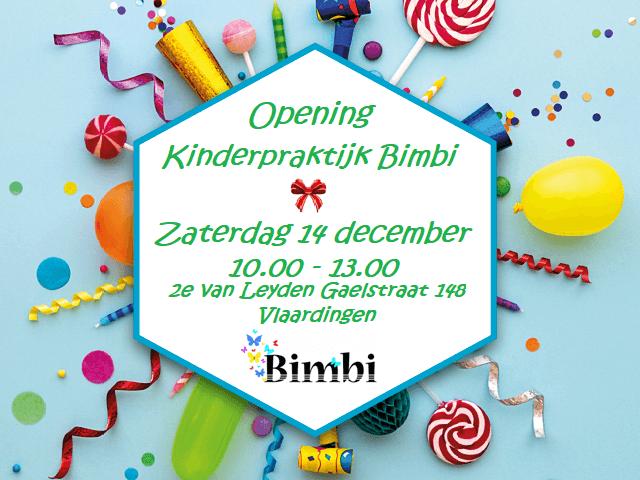 Bimbi uitnodiging